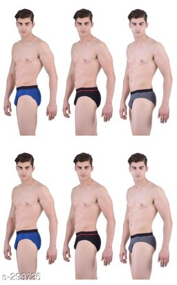 Comfy Cotton Men's Inner Wear Pack Of 6