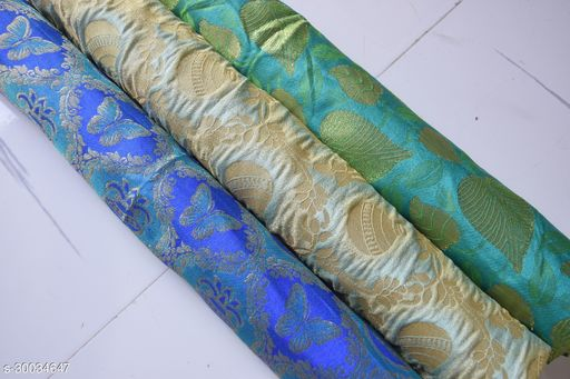 Designer Blouse Fabric Combo