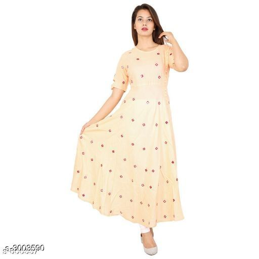 Kurtis & Kurtas 12 1  *Sizes Available* L, XL *    Catalog Name: Women's Printed Cotton Kurtis CatalogID_205567 C74-SC1001 Code: 814-3003590-