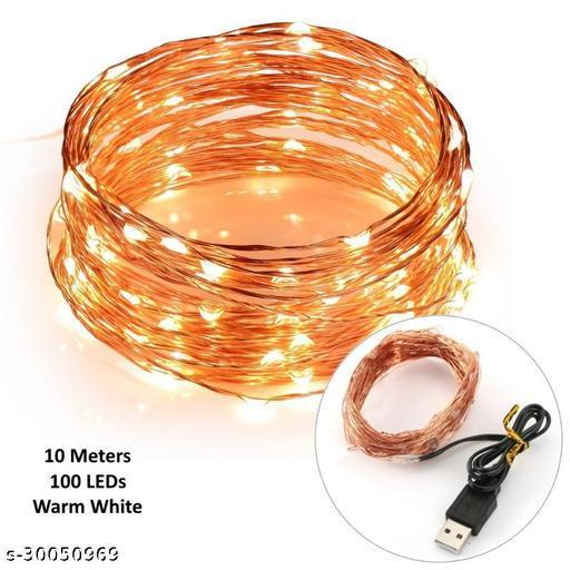 USB Warm Fairy Copper String Light