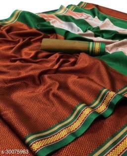 Khan Silk Cotton Saree/ Paithani Saree
