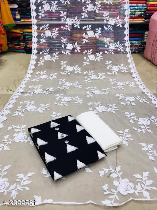 Charming Cotton Suit & Dress Material