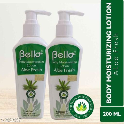 Bello Body Moisturizing Lotion - Aloe Fresh (Pack of 2)