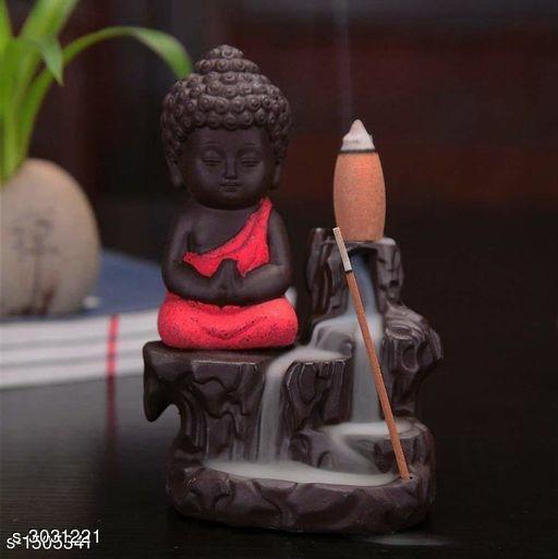 Smoke Fog Fountain Buddha