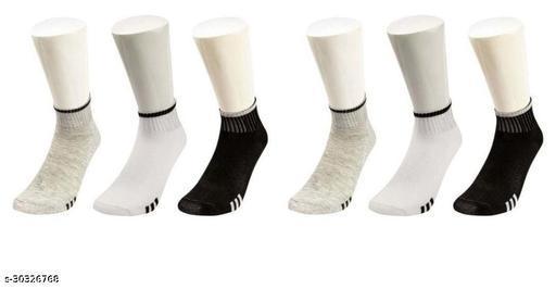 Men's Cotton Towel Ankle Length Socks for Gents and Men