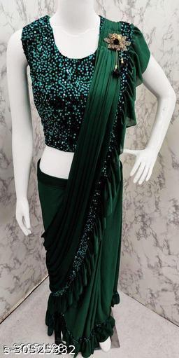 Womens Ready To Wear Saree(1 Minute Saree)