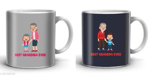 Kenji ppt01 Gift for Dadi Dada Grandparents 11 Oz 325 ML Ceramic Coffee Mug