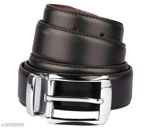 Stylish Black Belt For Men