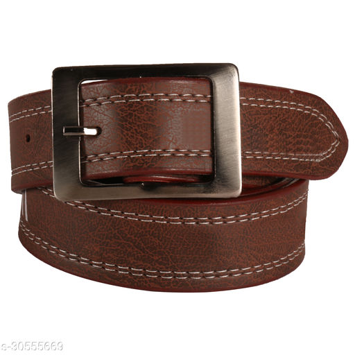 Stylish Dark Brown Belt For Men