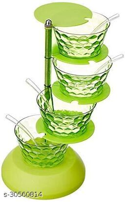 Pickle Storage Tower Kitchen Containers Set (1 Piece, 4 Layer)