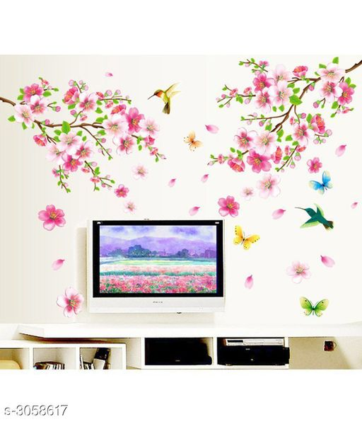 Trendy Elegant PVC Vinyl Wall Sticker