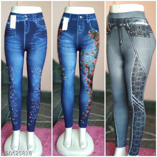 Stylish Women Printed Legging