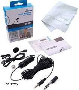 BOYA- Coller Mic CM55 Omnidirectional Condenser Microphone with 20 Feet Audio Cable