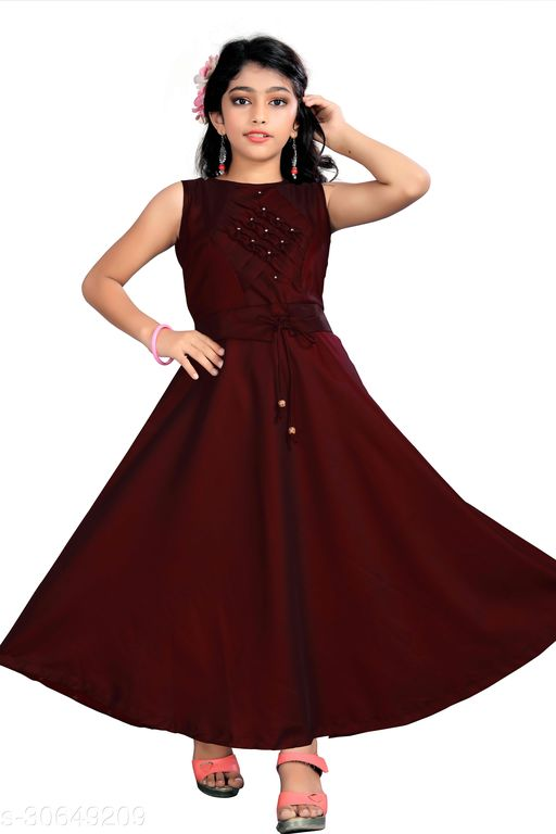 Classic Girls Ethnic Gowns
