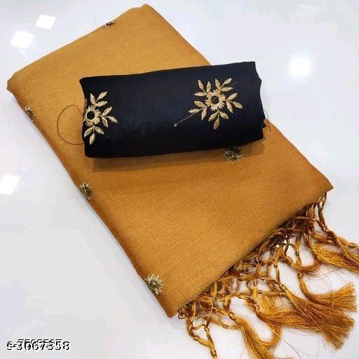 Trendy Tussar Silk Women's Sarees