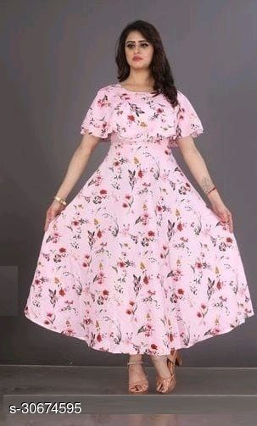 Classic Elegant Women gown
