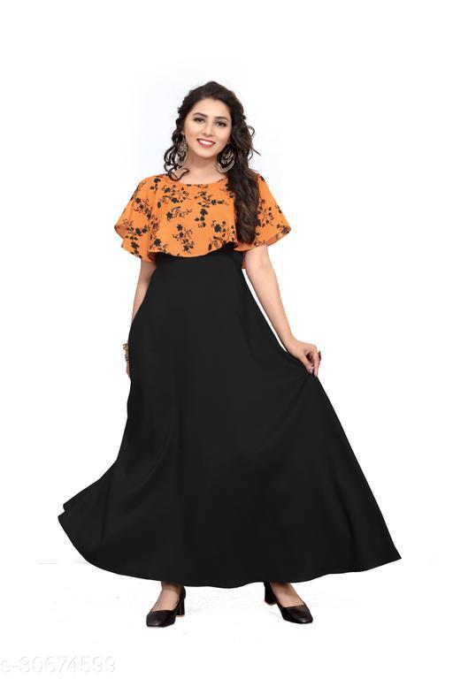 Comfy Ravishing Women gown