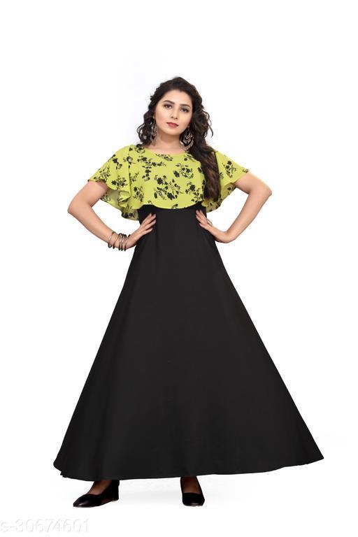 Classy Modern Women gown