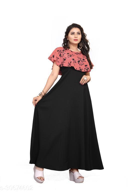 Trendy Elegant Women gown