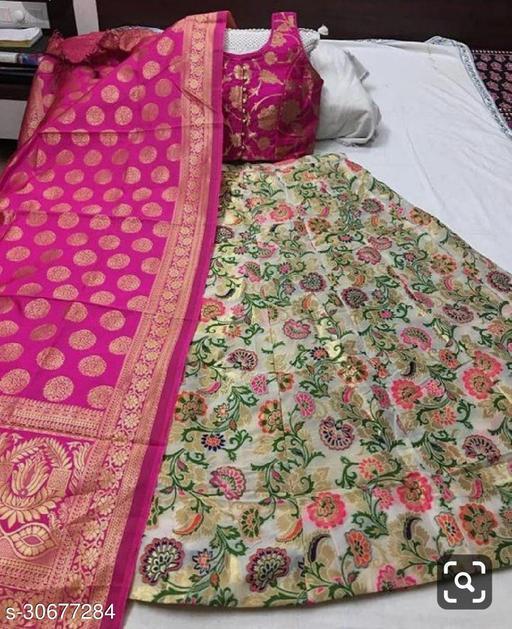 Fancy Silk Lahenga Choli