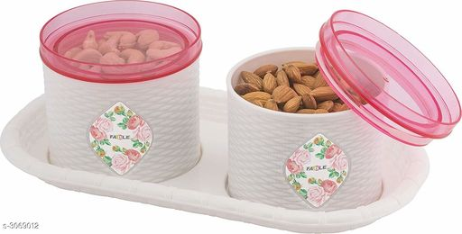 Multi Purpose Plastic Storage Container With Serving Tray