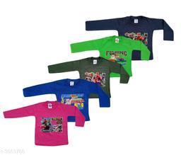 Elegant Kid's T-Shirts (Pack Of 5) (2-6 Year)