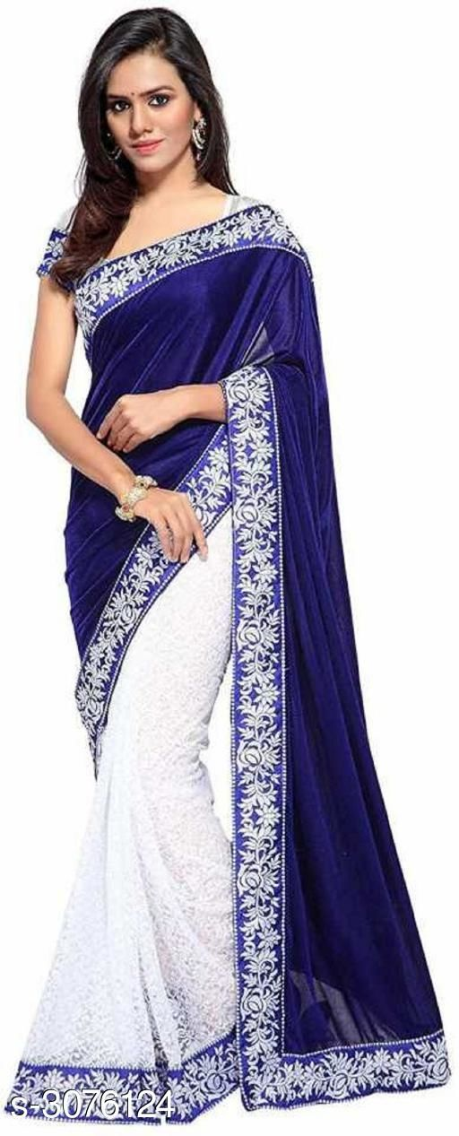 Sarees Fabulous Velvet Women's Sarees  *Fabric* Saree - Velvet , Blouse - Velvet  *Size* Saree Length - 5.5 Mtr, Blouse Length - 0.8 Mtr  *Work* Embroidered  *Sizes Available* Free Size *    Catalog Name: Fabulous Velvet Women's Sarees CatalogID_421300 C74-SC1004 Code: 674-3076124-