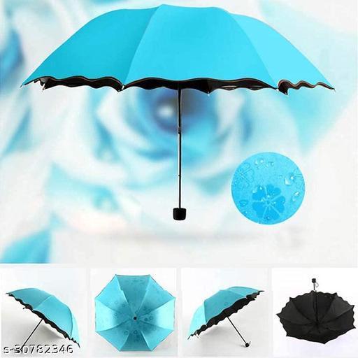 Magic Flowers Umbrella Travel Folding Rain Windproof Umbrella Anti- Sun/Rain Umbrella ( multi color)
