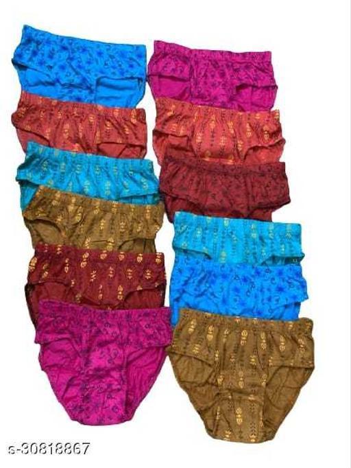 Comforty Womens Panties Pack of 12