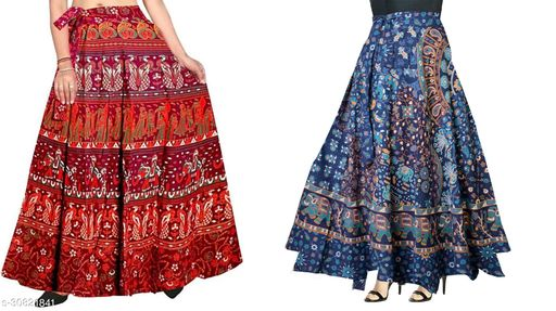 double sanganeri dress