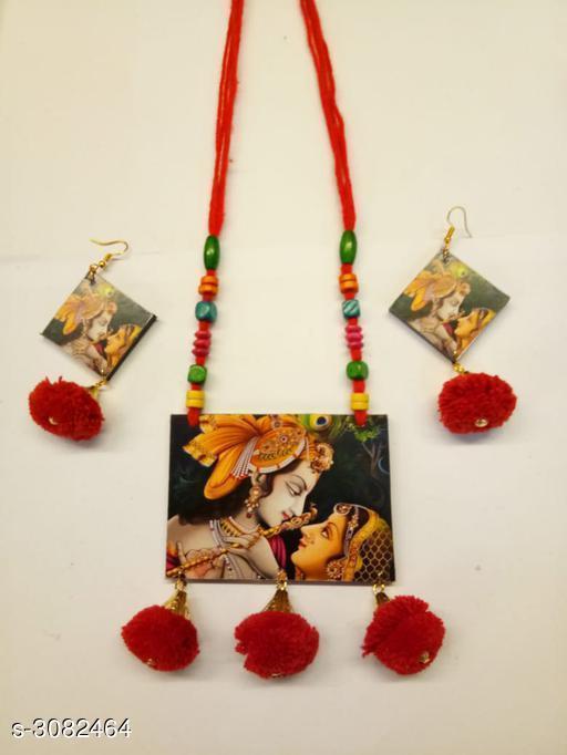 Diva Wooden Women's Jewellery Set