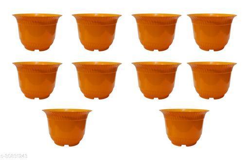 Garden Plastic Gamla/Planter 9.5-inch -Pack of 10