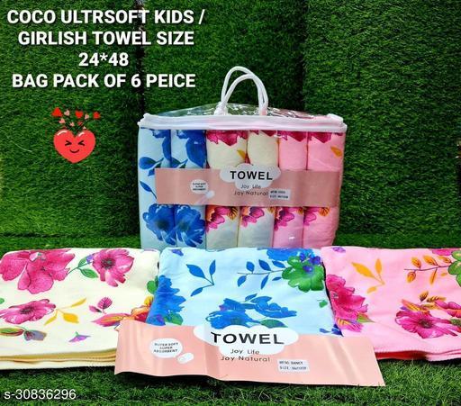 Comfortable Designer Kids Unisex Towel, Bathrobes & Showercaps