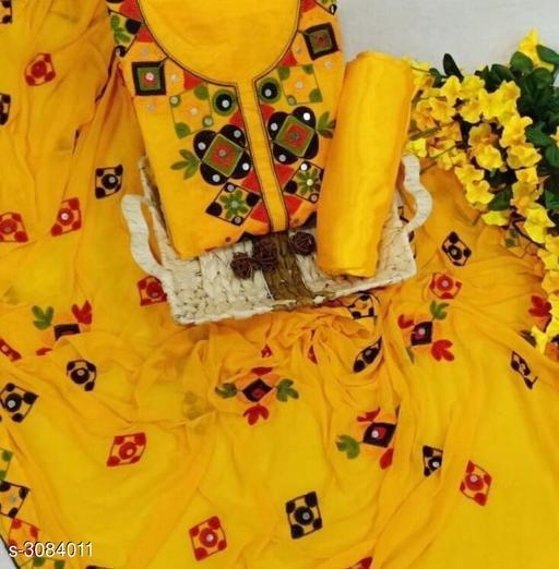 Chanderi Cotton Suit & Dress Material
