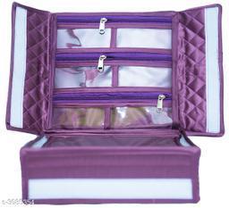 satin Multipurpose jewellery storage vanity cosmatic box