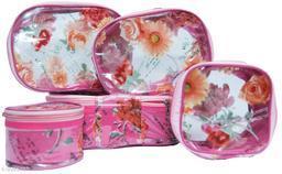 Set of 5pc jewellery storage vanity cosmatic box