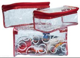 Set Of 3pc jewellery Storage Vanity cosmatic box