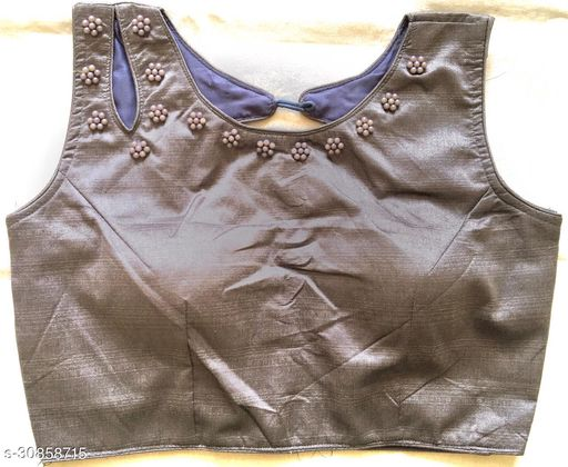 Beautifull moti work stiched blouse