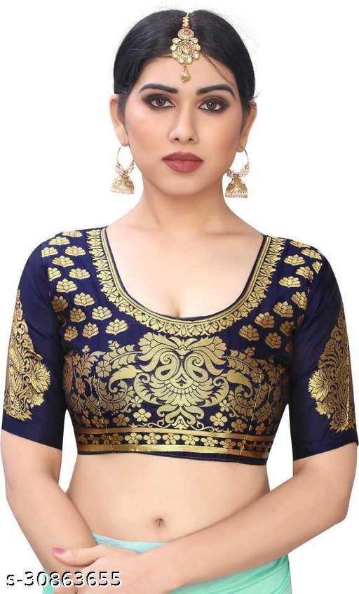 PANETAR Jecquard Self Design Unstitch Blouse Fabric