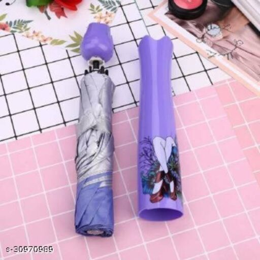 DHARMIK FASHION rose unbrella  Plastic Umbrella with Compact Bottle  Umbrella