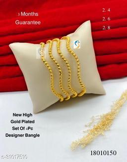 New design premium quality high gold plated designer designer bangle.