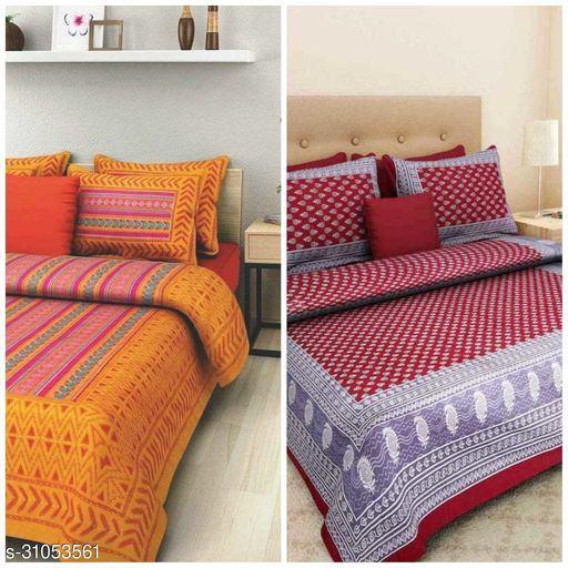 Funcy Home Cotton Bedsheets