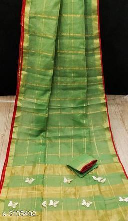 Attractive Doriya Cotton  Sarees