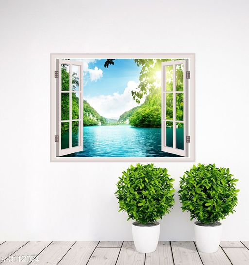 Decorative Stickers  Designer Vinyl Wall Stickers  Material: Vinyl  Size(  H X W): 22 cm X 30 cm Description: It Has 1 Piece Of Wall Sticker  Work: Printed Sizes Available: Free Size   Catalog Rating: ★3.6 (10)  Catalog Name: Priya Designer Vinyl Wall Stickers Vol 1 CatalogID_426771 C127-SC1267 Code: 981-3112074-