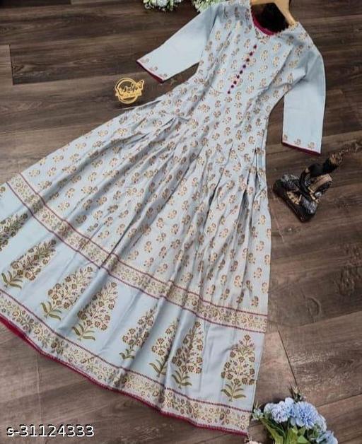 New Designers  Women's Printed kurti