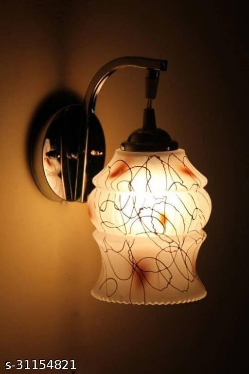 Somil Stylish & Designer Colorful Sconce Glass Wall Lamp Light
