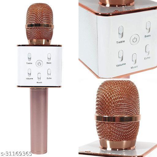 unique-Q7-mic-blutooth-mic{rosegold}