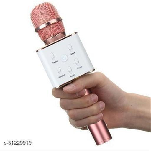 microphone~rosegold~wireless{Q7}