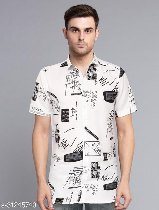 Cool Printed Trending Men's Casual Shirt