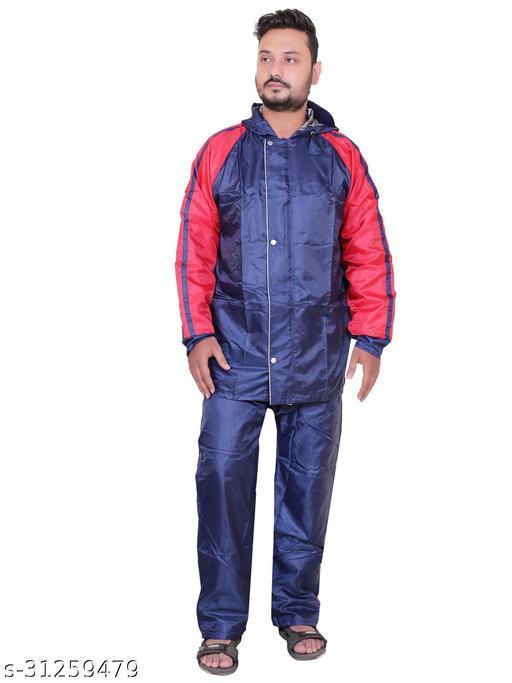 Click One Reversible Unisex Raincoat